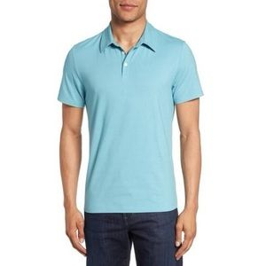 JACHARY PRELL | Stretch Jersey Polo Shirt Large